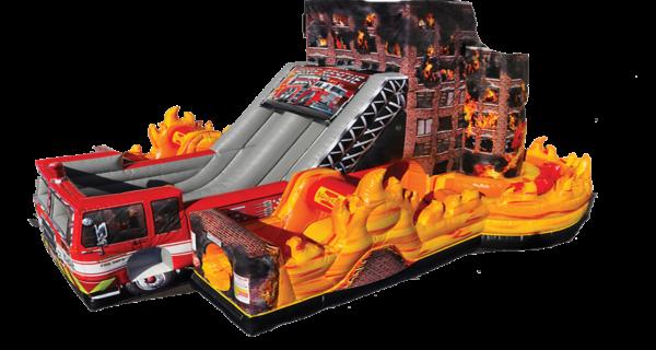 Fire Rescue Bouncer
