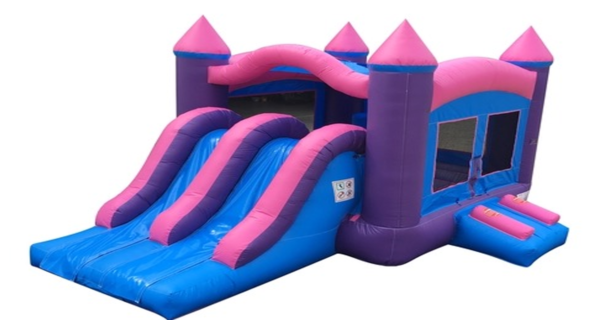 Princess Castle W/Slide Bouncer