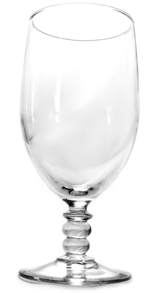 Bubble Stem Wine Glass