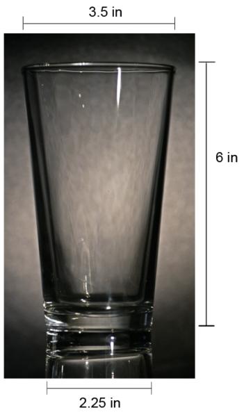 Bar & Soda Glass