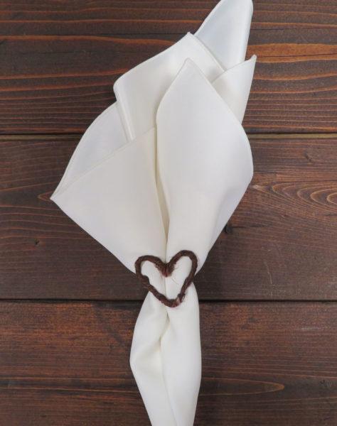 Grapevine Heart Napkin Ring