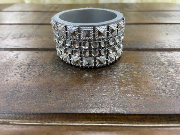 Napkin Ring: Square Diamond