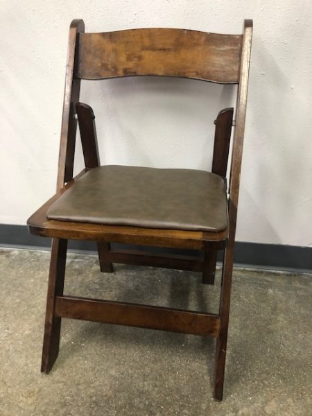 Fruitwood Folding Chair