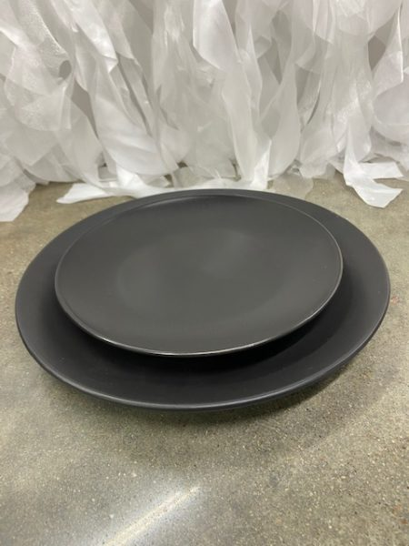 Black Matte Plates