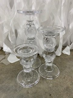 Bubble Candlesticks (Set of 3)