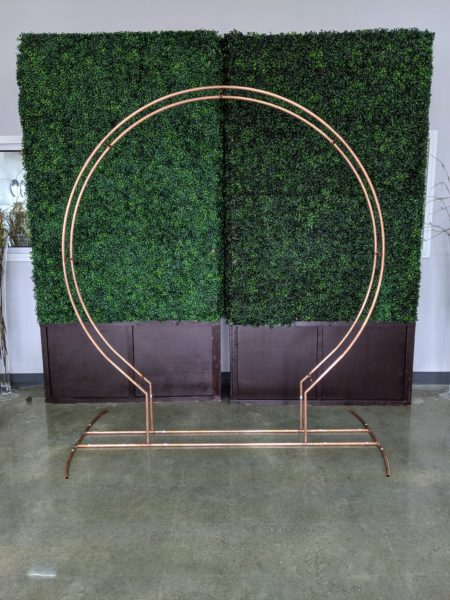 Round Copper Arch