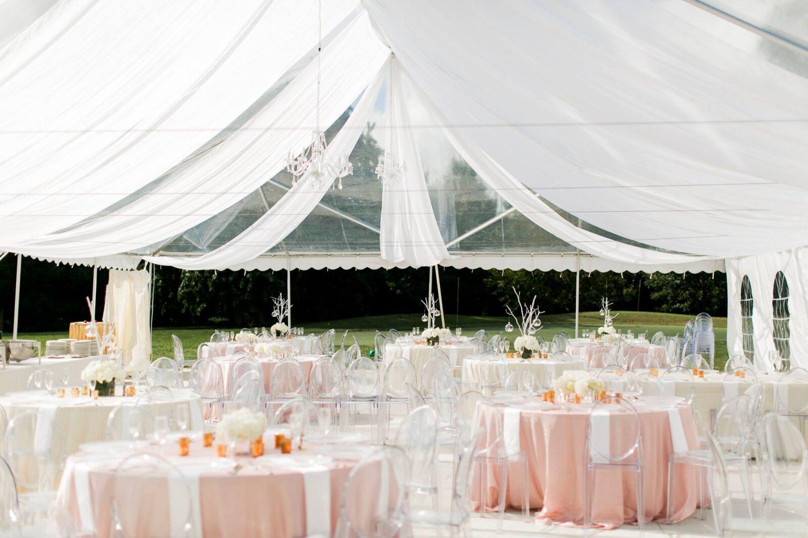 haseltine drape tent