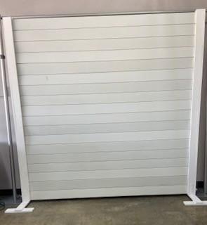 Wooden White Panel Backdrop 8×8